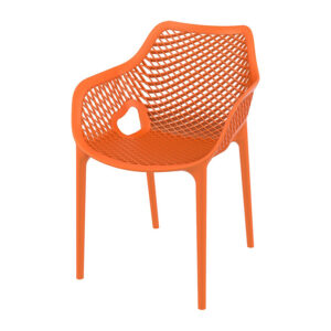 armstoel ariane oranje