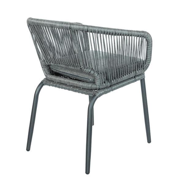 terrasstoel soraya grijs