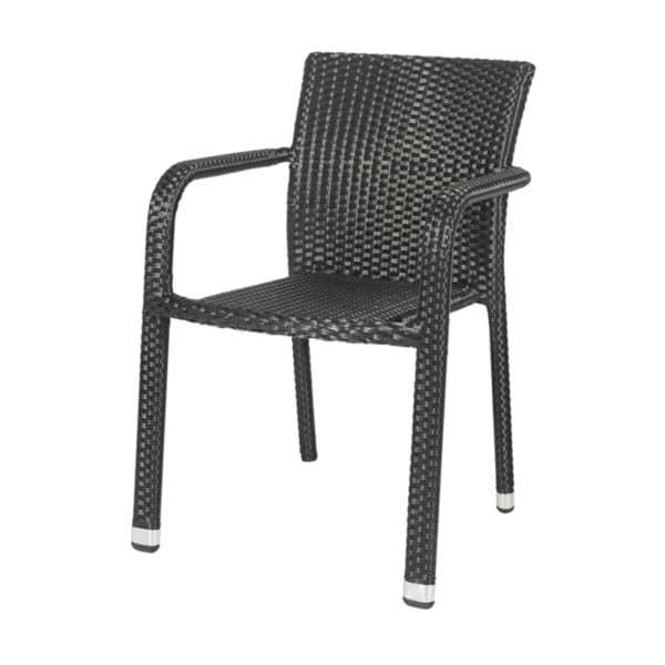 terrasstoel java black string