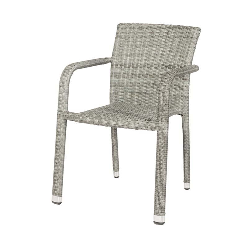 terrasstoel java grijs