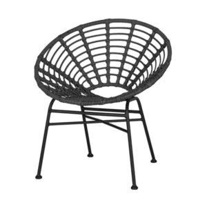 terrasstoel-jessy-zwart