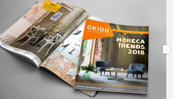 Okido b v horecameubelen en horeca projectinrichting for Meubilair groothandel