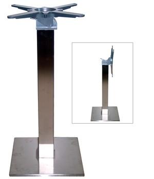 2101 - Tafelonderstel RVS 339-37S Klap