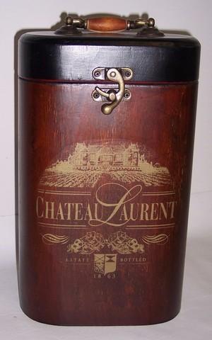 2454 - Houten wijnkoker