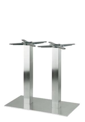 341S dubbel RVS 300x430 - Tafelonderstel RVS 341S dubbele poot