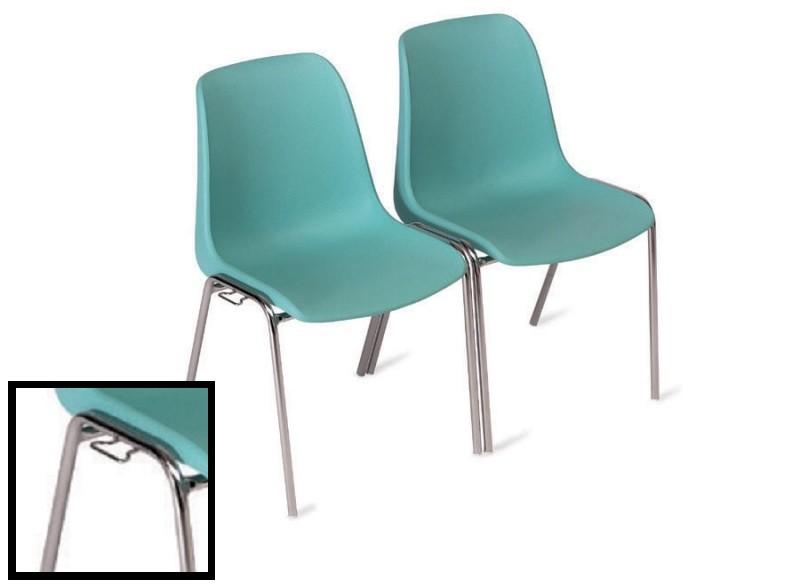 3473 - Metalen stapelstoel Helene