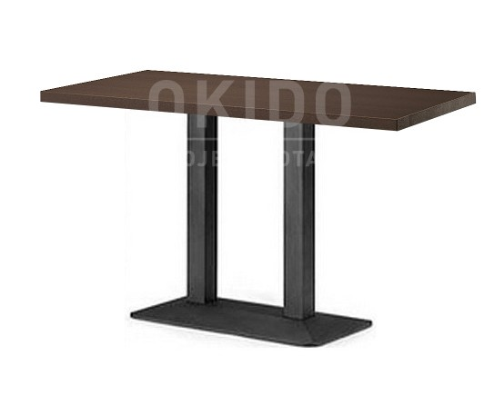 6 Persoons Tafel : Plywood tafel persoons okido b v