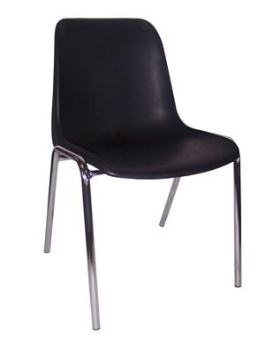 762 - Metalen stapelstoel Helene