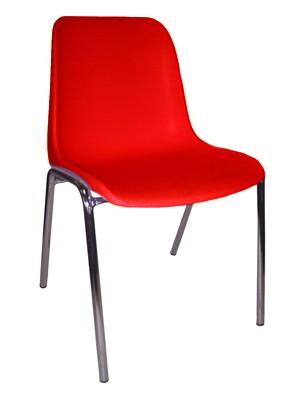 763 - Metalen stapelstoel Helene
