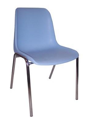 766 - Metalen stapelstoel Helene