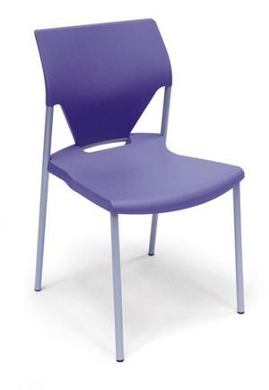 781 - Metalen stoel Trendy