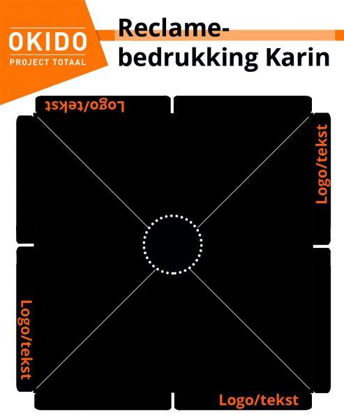 Reclamebedrukking Karin