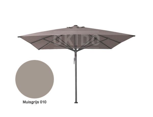 Parasol Bella 4x4 muisgrijs