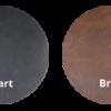 Cerato kleurrondjes met logo 100x100 - Stoel Pasha