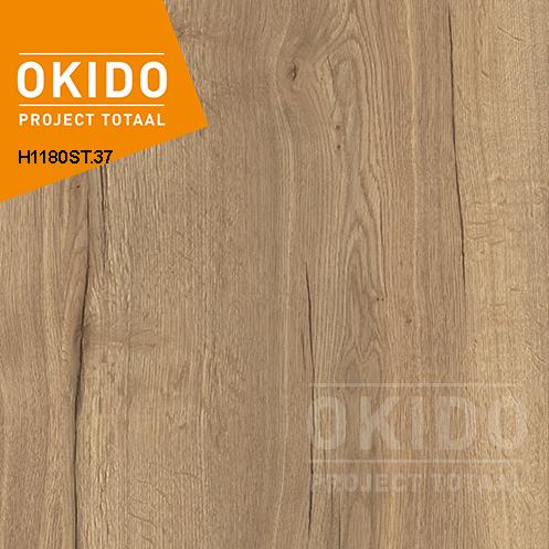 H1180ST37 - Melamineblad Halifax Oak Natuur