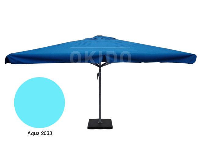 Zweefparasol Vierkant 400x400.Parasol Karin 400x400 Okido B V