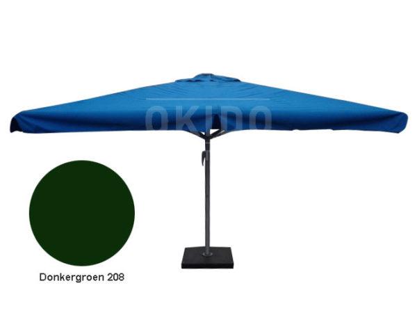 Parasol Karin 4x4 donkergroen
