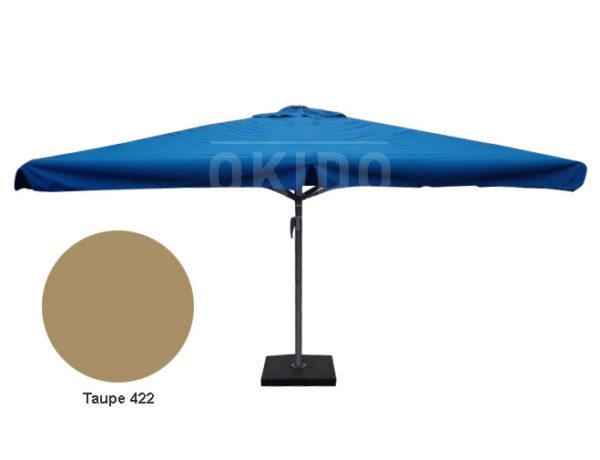 Parasol Karin 5x5 taupe