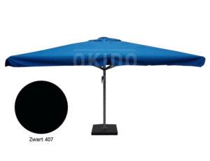 Parasol Karin 5x5 zwart