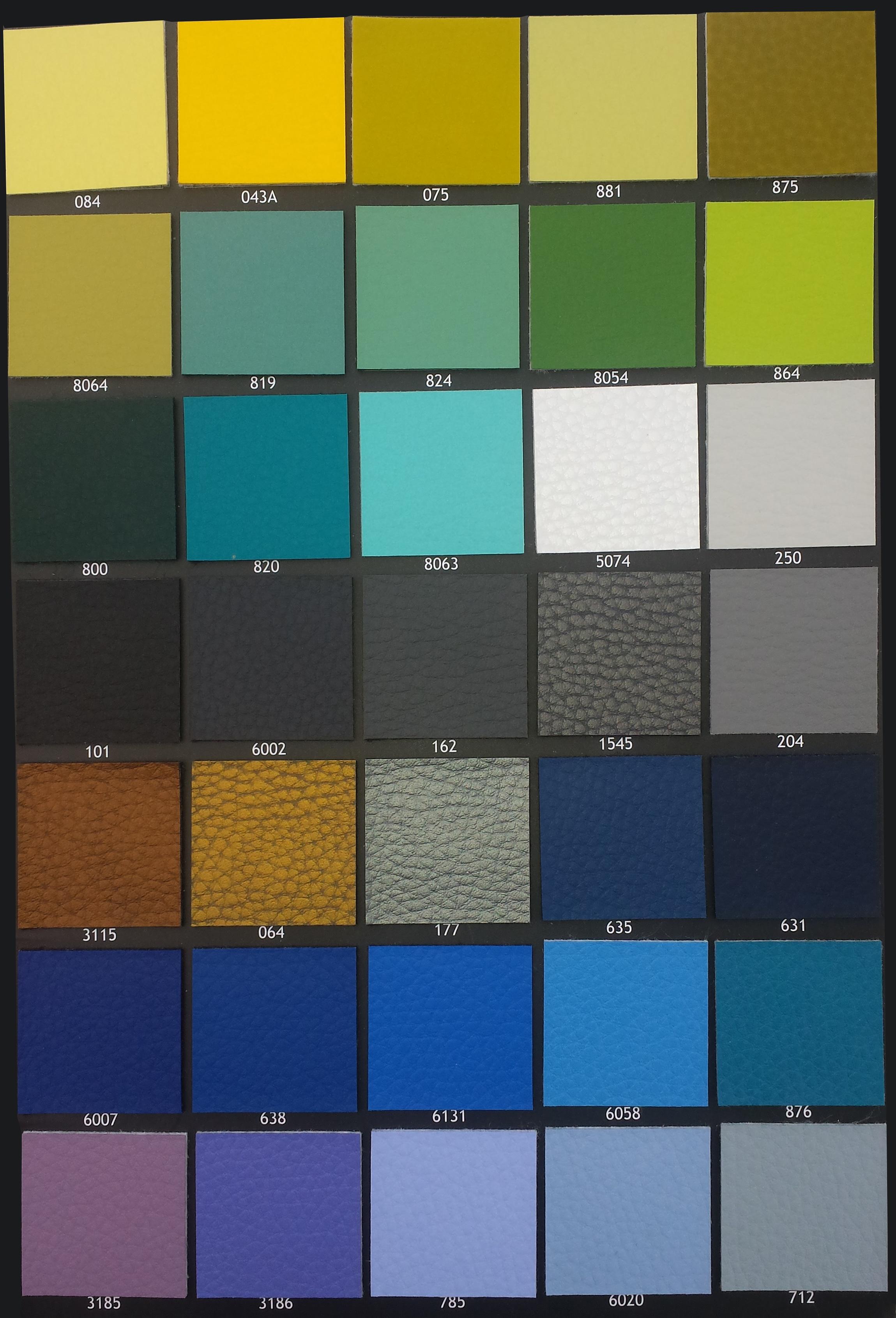 Pelko kleurkaart B - Hoekstuk 30 met box