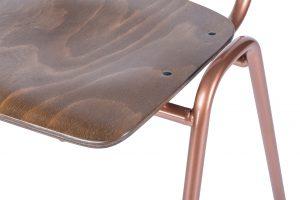 Retro Copper detail 300x200 - Stoel Retro Copper