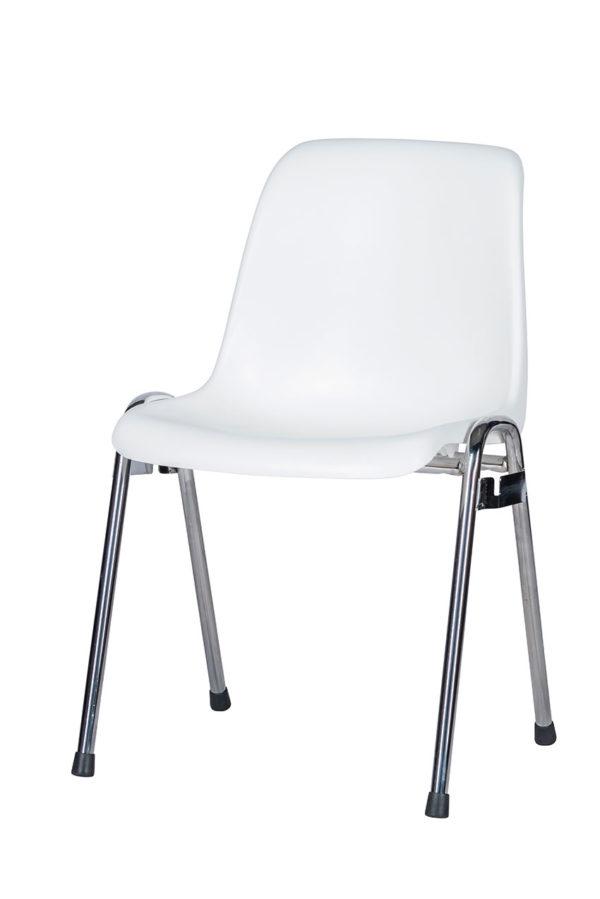 projectstoel arena is een stapelbare kunststof stoel