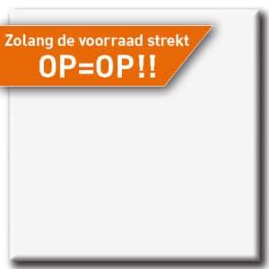 Terrastafelblad Werzalit 001 Wit