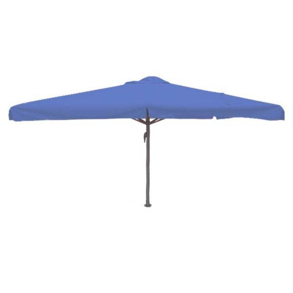 Parasol Karin 400×400 helderblauw