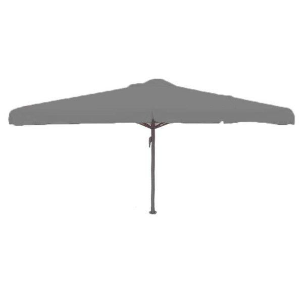 Parasol Karin 400×400 muisgrijs