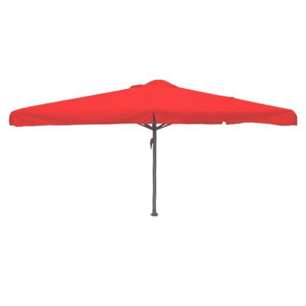 Parasol Karin 400×400 rood