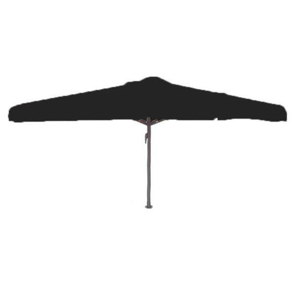 Parasol Karin 400×400 zwart