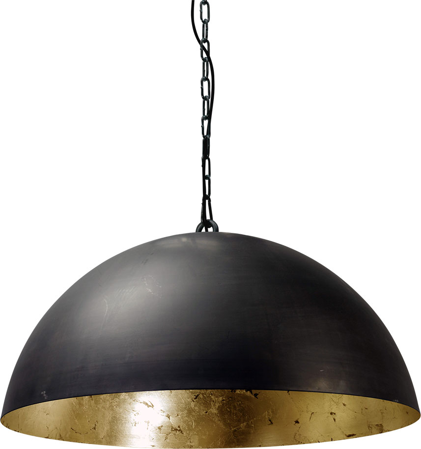 larino 2200 30 08 K - Lamp Larino Gunmetal Goud