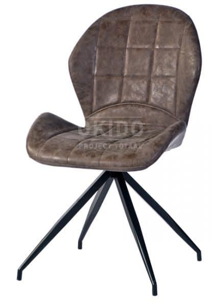 Roxy MS17 dark brown hoofdfoto 415x600 - Stoel Roxy MS-17
