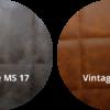 Vintage Cognac en dark brown 100x100 - Stoel Roxy MS-17
