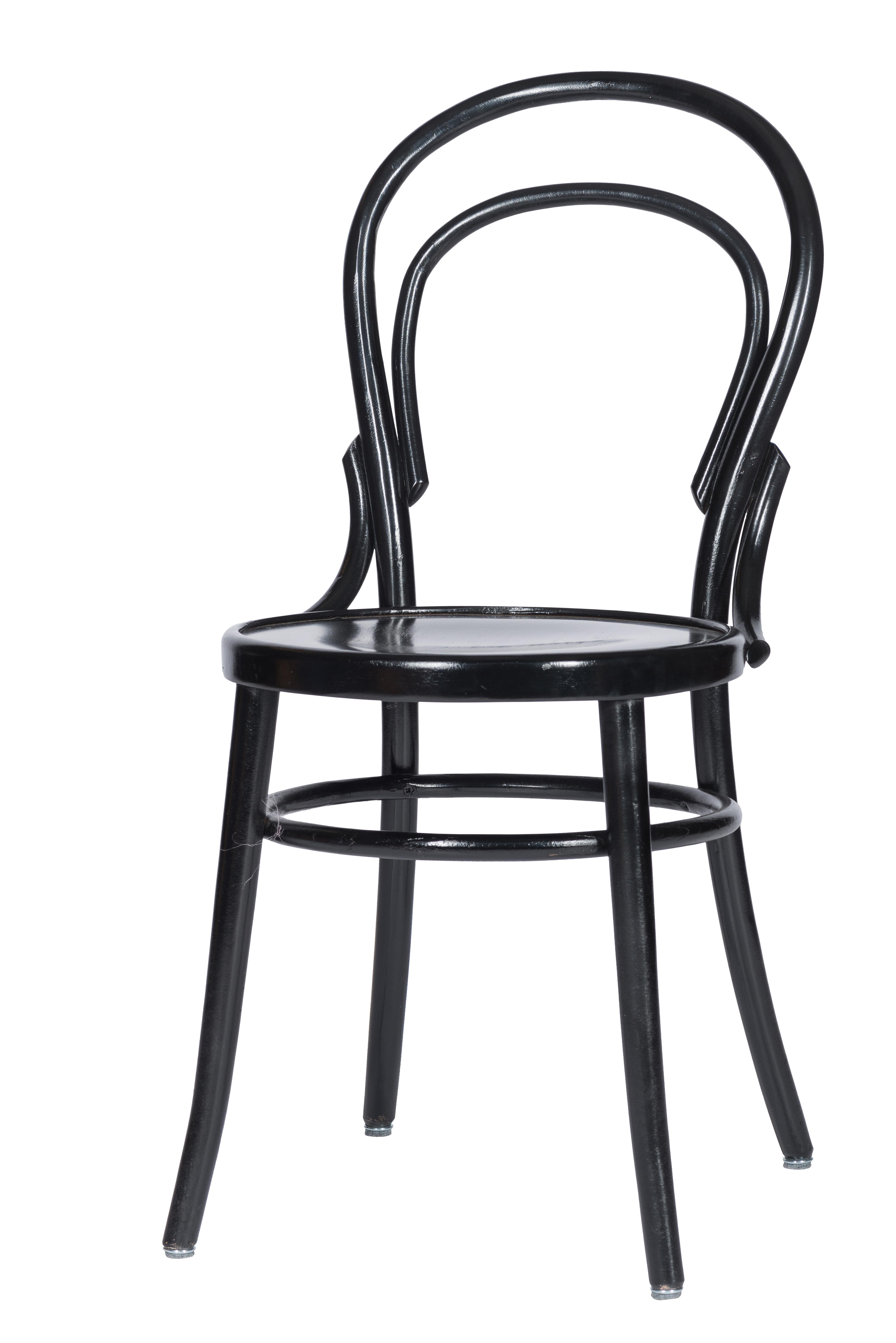 A 014 - Stoel A-014 zwart