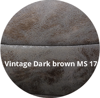 Carmen dark brown - Stoel Carmen MS-17