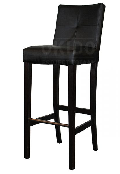Barkruk Jarno-C Metallic Black