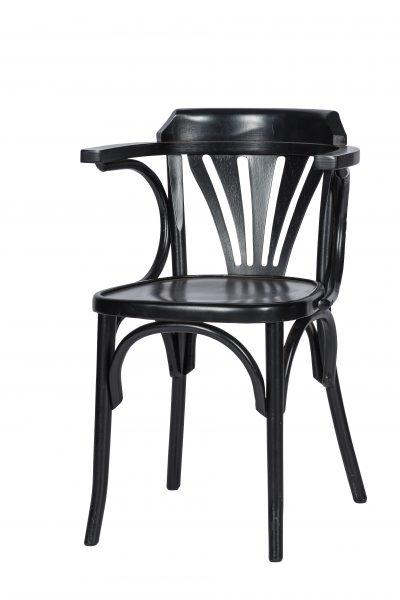 KeesArm zwart 400x600 - Armstoel Kees zwart