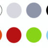 Kleurkaders Box met blauw 100x100 - Terrasstoel Box Silver grey