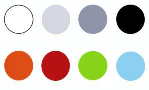 Kleurkaders Box met blauw 300x182 - Terrasstoel Box White