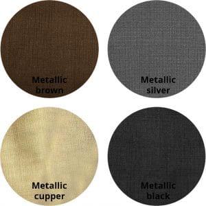Metallic Dakota kleurrondjes met logo 300x300 - Stoel Eton Metallic Silver