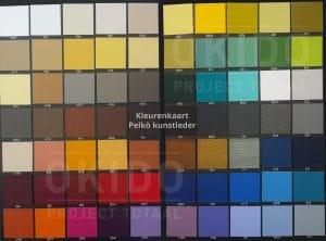 Pelko kleurkaart totaal 300x222 - Fauteuil Capital Pelkò