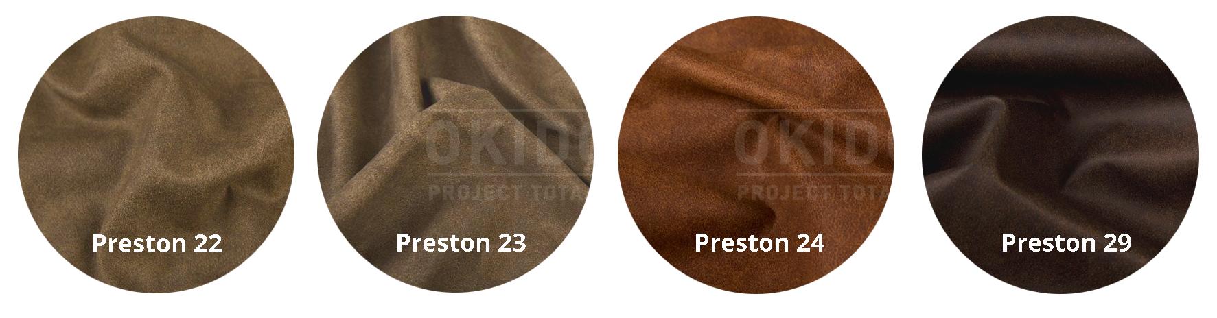 Preston 22 23 24 29 met logo - Stoel Lara Preston 29
