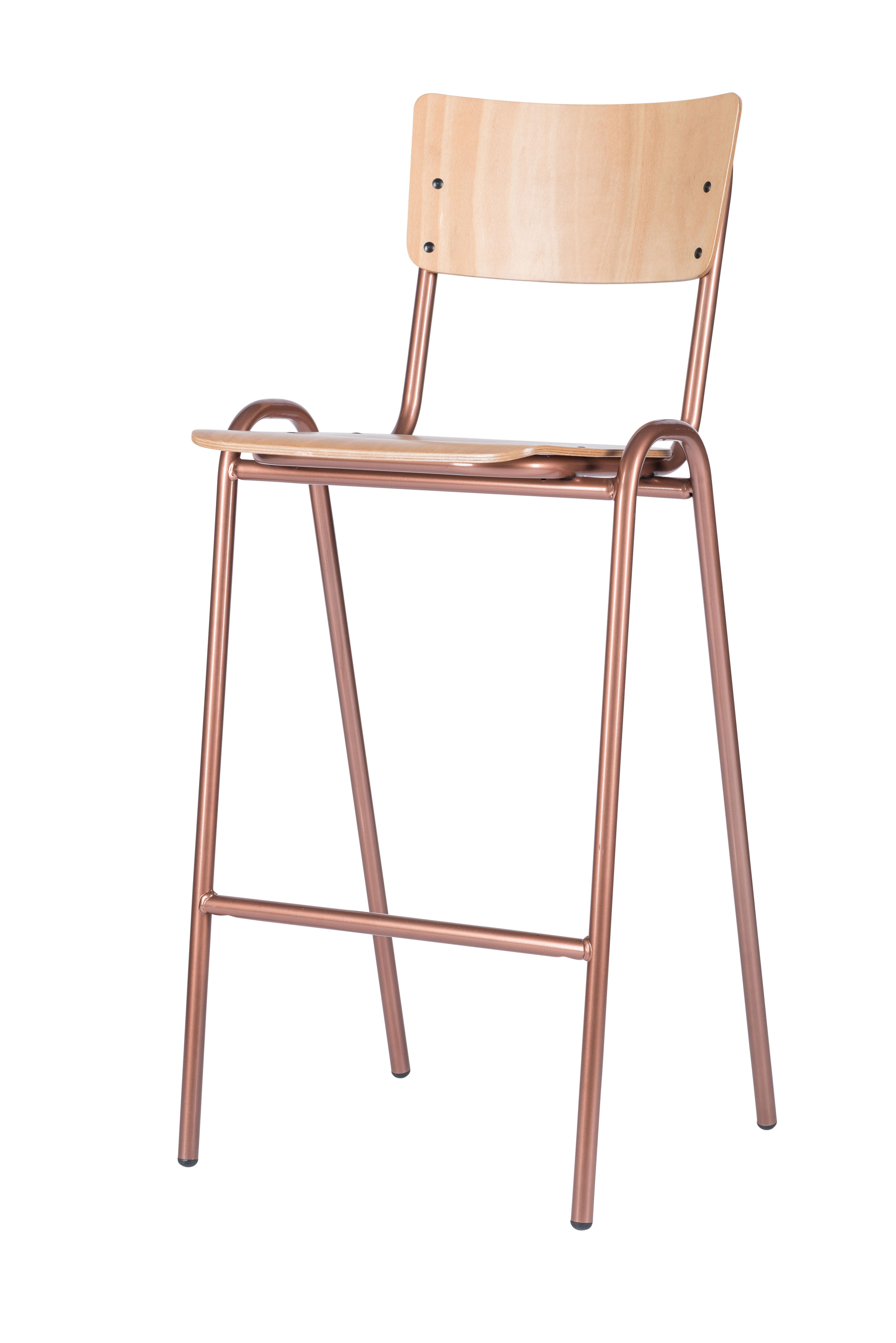 Retro Copper barkr - Barkruk Retro Copper