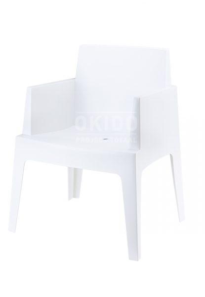 horeca Terrasstoel Box White