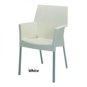 horeca Terrasstoel Sole white