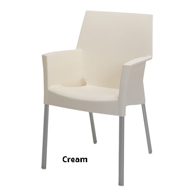 horeca Terrasstoel Sole cream