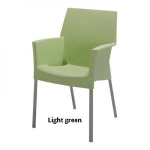 horeca Terrasstoel Sole light green