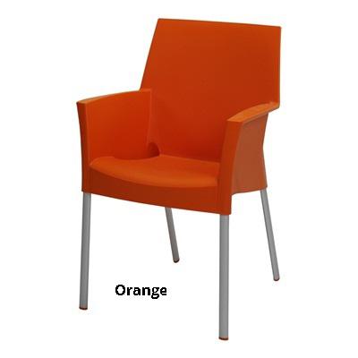 horeca Terrasstoel Sole orange