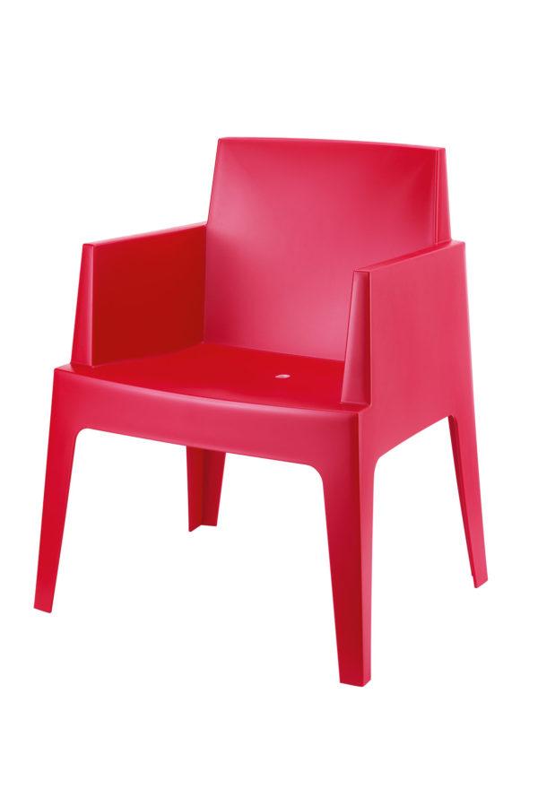 Box red 600x899 - Terrasstoel Box Red